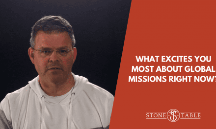 VIDEO: What excites you most about Global Missions right now?