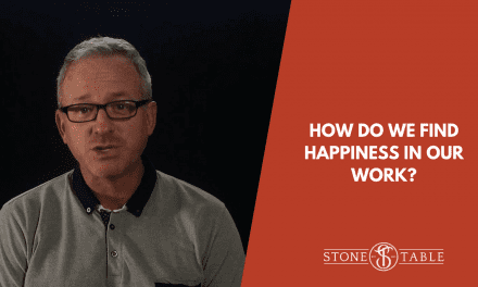 VIDEO: How do we find happiness in our work?
