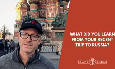 What Did You Learn From Your Recent Trip To Russia?