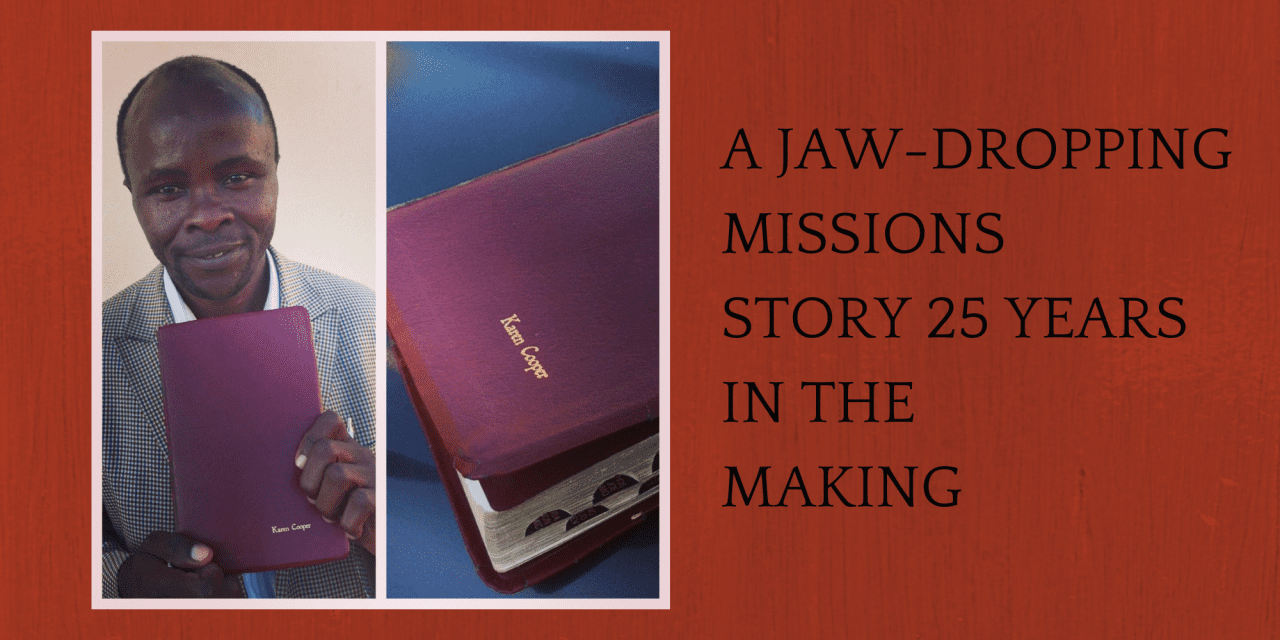 A Jaw-Dropping Missions Story 25 Years In The Making