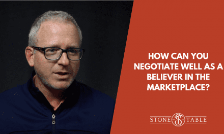 How Can You Negotiate Well As A Believer In The Marketplace?