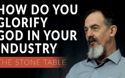 How Do You Glorify God In Your Industry